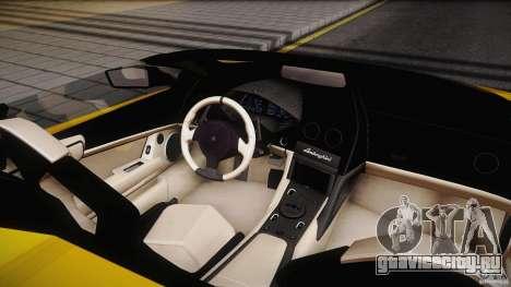 Lamborghini Reventón Roadster 2009 для GTA San Andreas вид сзади