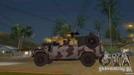 Land Rover WMIK для GTA San Andreas вид слева