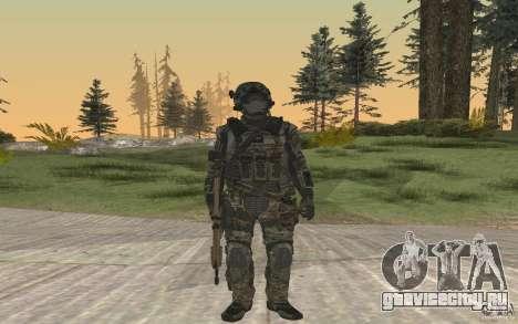 Seals soldier from BO2 для GTA San Andreas второй скриншот