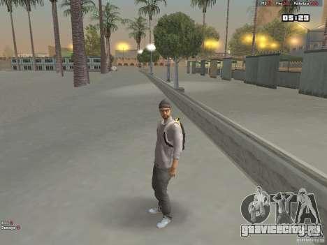 Skin Hipster v1.0 для GTA San Andreas второй скриншот