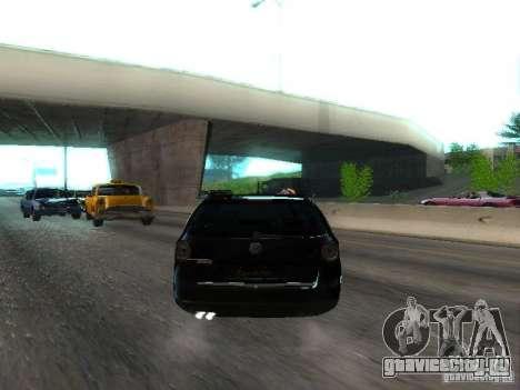 Volkswagen Passat B6 Variant Com Bentley 20 Fixa для GTA San Andreas вид справа