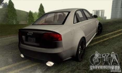 Audi RS4 для GTA San Andreas вид слева