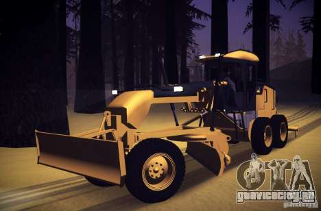 Caterpillar 140AWD Motorgrader для GTA San Andreas