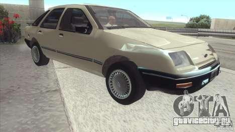 Ford Sierra для GTA San Andreas вид сзади слева
