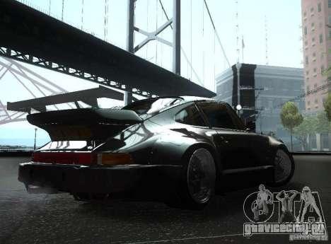 Porsche 911 Turbo RWB для GTA San Andreas вид справа
