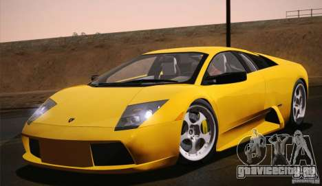 Lamborghini Murcielago 2002 v 1.0 для GTA San Andreas