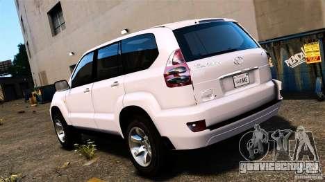 Toyota Land Cruiser Prado для GTA 4 вид слева