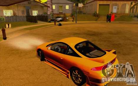 Mitsubishi Eclipse GSX Mk.II 1999 для GTA San Andreas вид справа