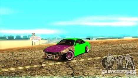 Nissan Silvia S14 для GTA San Andreas вид слева