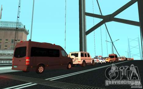 Президентский кортеж v.1.2 для GTA San Andreas третий скриншот