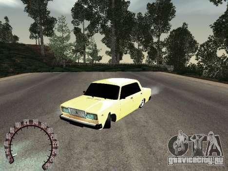 ВАЗ 2107 Gold для GTA San Andreas