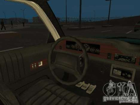 HD Police from GTA 3 для GTA San Andreas вид сбоку