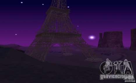 Эйфелева Башня из Call of Duty Modern Warfare 3 для GTA San Andreas шестой скриншот