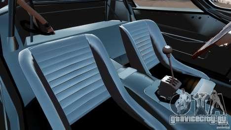 Ferrari 250 1964 для GTA 4 вид изнутри