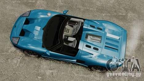 Ford GTX1 2006 для GTA 4 вид справа