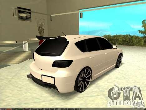Mazda Speed 3 Stance v.2 для GTA San Andreas вид слева