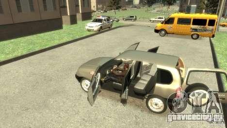 Chevrolet Niva для GTA 4 вид справа