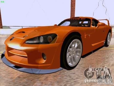Dodge Viper GTS-R Concept для GTA San Andreas