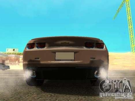 Chevrolet Camaro SS 2010 для GTA San Andreas вид справа