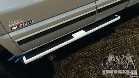 Chevrolet Silverado 2500 Lifted Edition 2000 для GTA 4 колёса