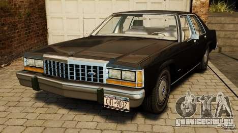 Ford LTD Crown Victoria 1987 для GTA 4