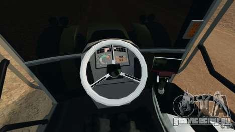 Claas Axion 850 для GTA 4 вид сзади