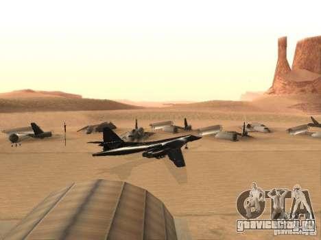 Ту 160 Black Jack для GTA San Andreas вид слева