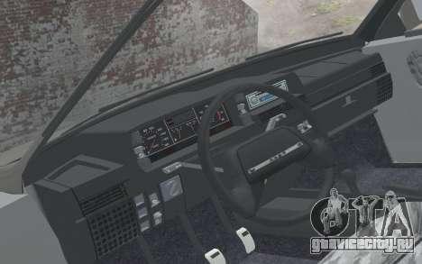 ВАЗ 2108 Наташа для GTA San Andreas вид справа