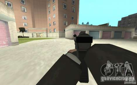 Новая анимация стрельбы  из GTA IV для GTA San Andreas седьмой скриншот