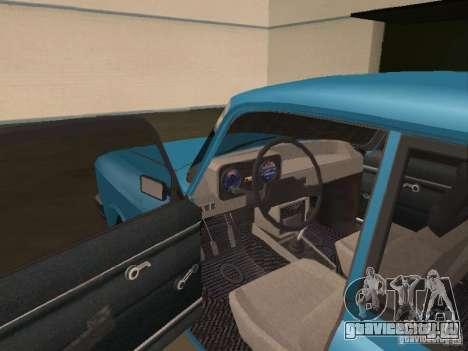 Москвич 2140 SL для GTA San Andreas вид справа