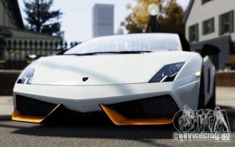 Lamborghini Gallardo LP570-4 Spyder для GTA 4 вид справа