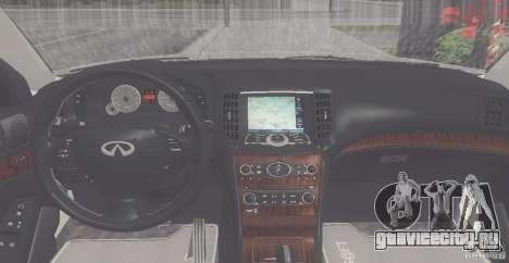 Infiniti M35 для GTA San Andreas вид справа