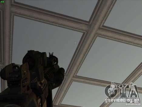 MK-18 US Navy Style для GTA San Andreas четвёртый скриншот