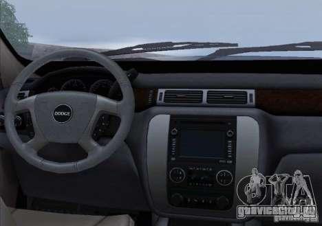 Dodge Ram Ambulance для GTA San Andreas салон