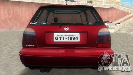 Volkswagen Golf GTI 1994 для GTA Vice City вид слева