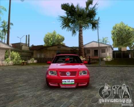 Volkswagen Jetta 2005 для GTA San Andreas вид сбоку