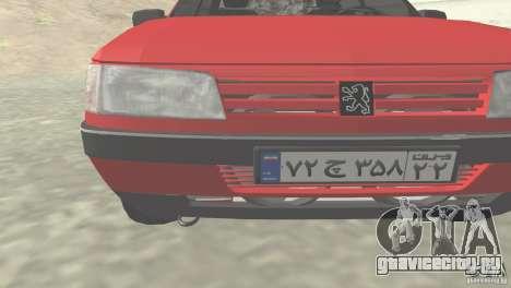 Peugeot RD 1600i для GTA San Andreas вид слева