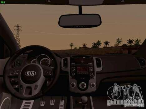 Kia Cerato Coupe 2011 для GTA San Andreas вид сзади