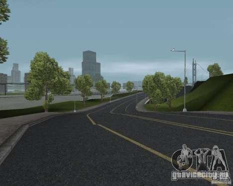 Новые текстуры дорог для GTA UNITED для GTA San Andreas четвёртый скриншот