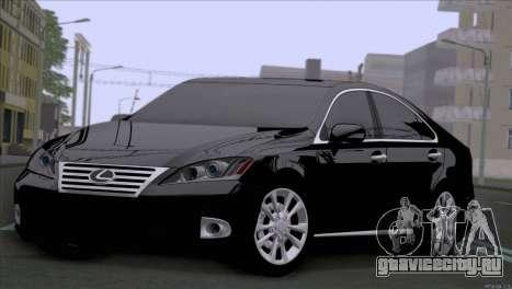 Lexus ES350 для GTA San Andreas вид слева