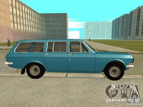 ГАЗ Волга 24-12 для GTA San Andreas вид слева