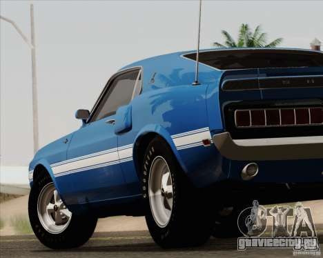 Shelby GT500 428 Cobra Jet 1969 для GTA San Andreas салон