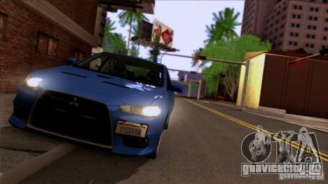 SA Beautiful Realistic Graphics 1.3 для GTA San Andreas пятый скриншот