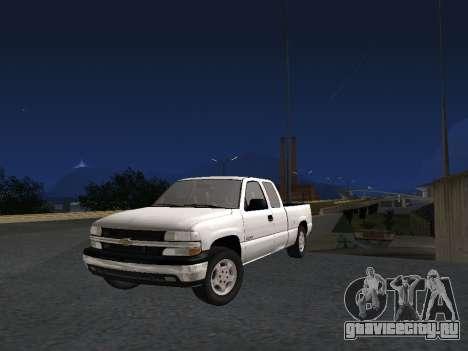 Chevorlet Silverado 2000 для GTA San Andreas