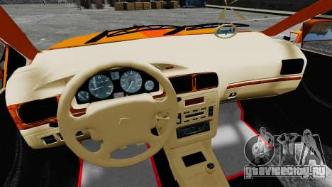 Iran Khodro Samand LX Taxi для GTA 4 вид сзади