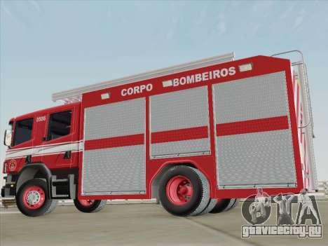 Scania 94D-260 Corpo Bombeiros SP для GTA San Andreas салон