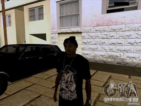 Темнокожий Парень для GTA San Andreas
