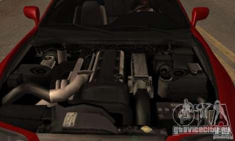 Toyota Supra Targa для GTA San Andreas вид сзади