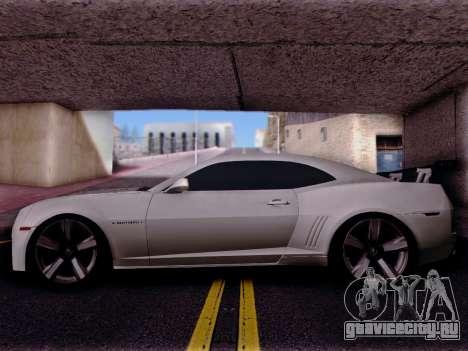 Chevrolet Camaro ZL1 SSX для GTA San Andreas вид слева
