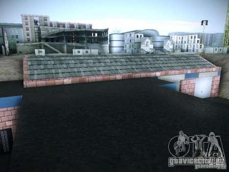 Новый гараж в San-Fierro для GTA San Andreas шестой скриншот